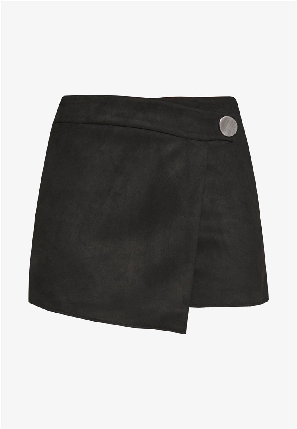 Shorts scamosciato