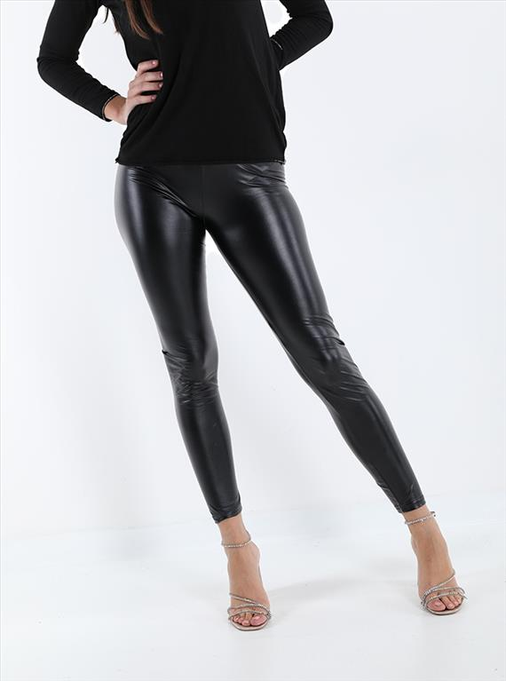 Leggins ecopelle