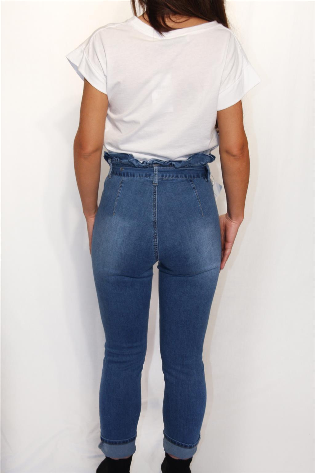 Jeans fibbia