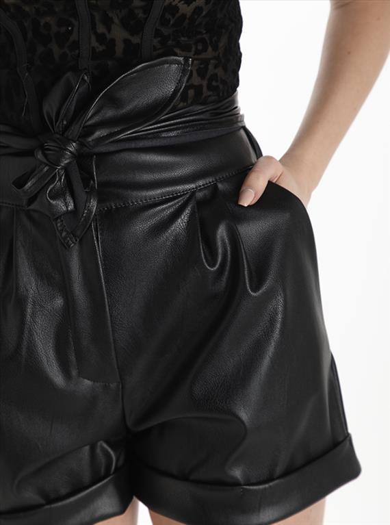 shorts ecopelle