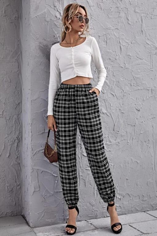 Pantalone quadri