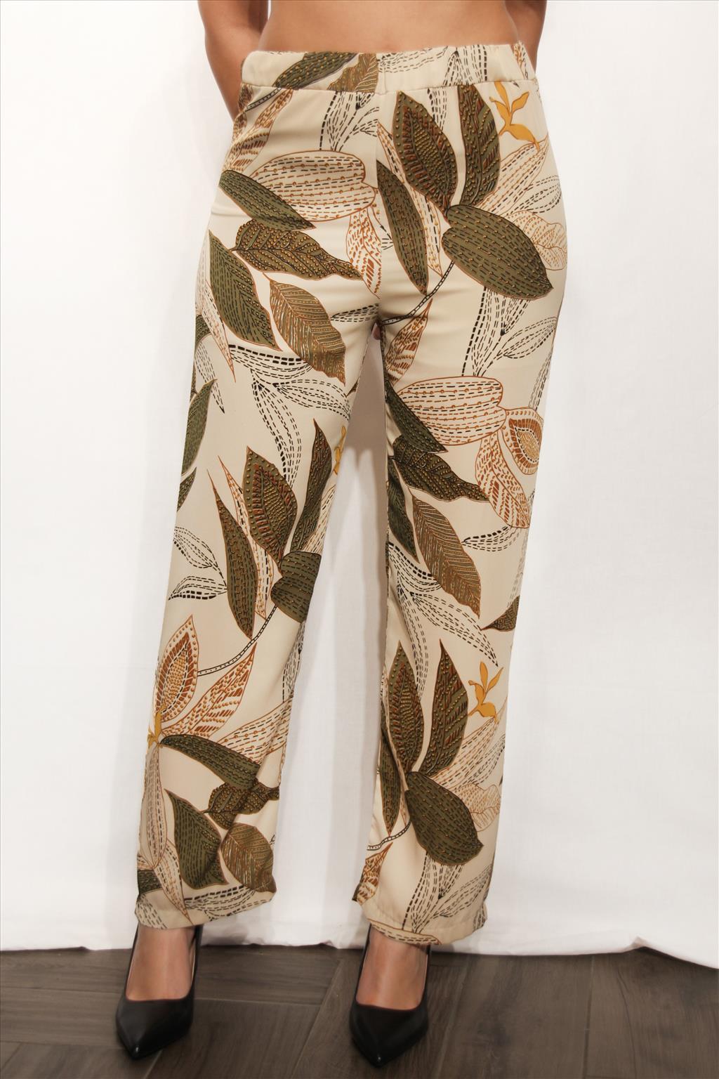 Pantalone foglie