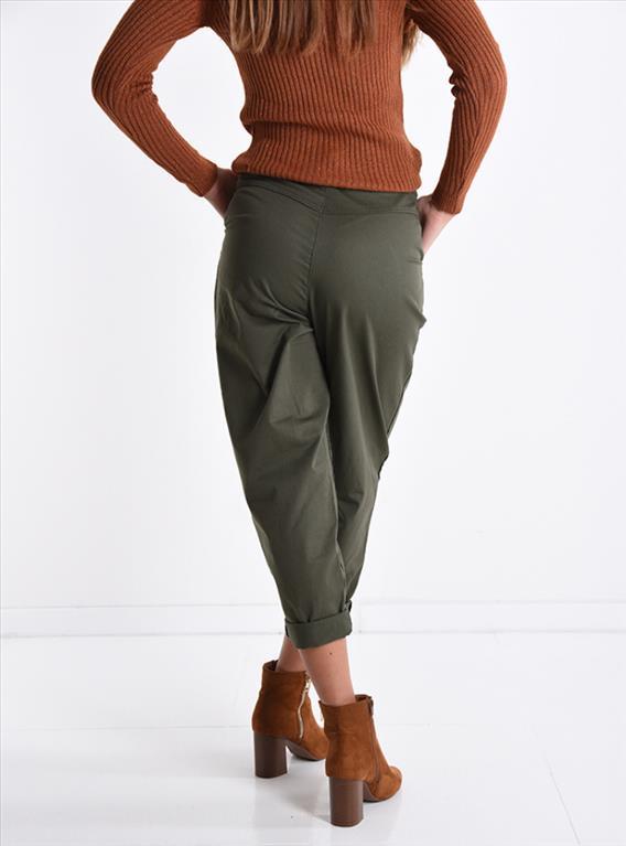 Pantalone mom fit