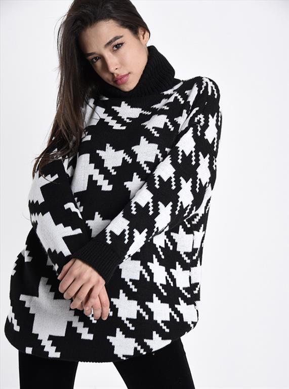 Maxi maglione
