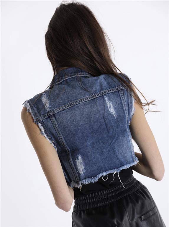 Smanicato jeans