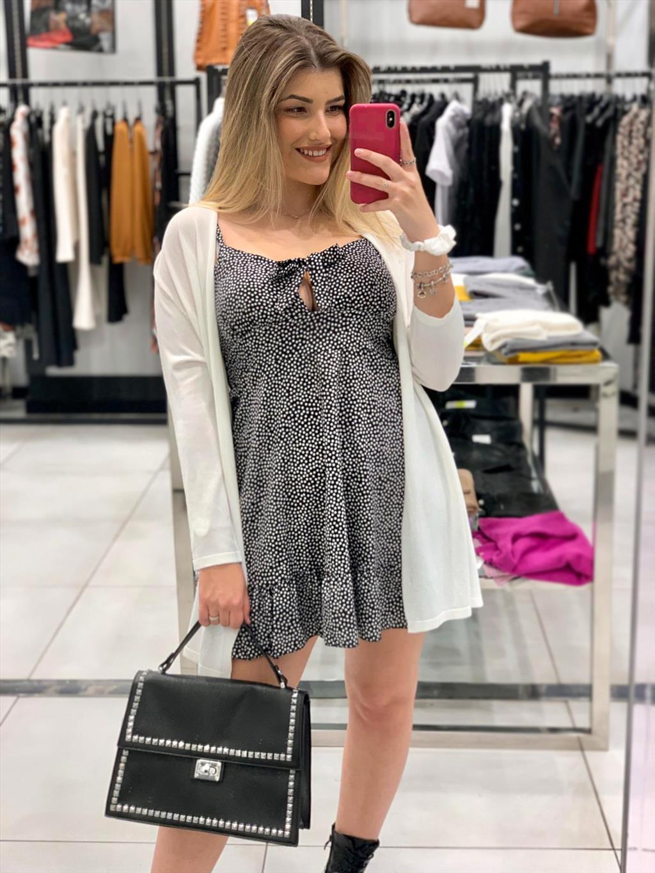 Mini abito pois