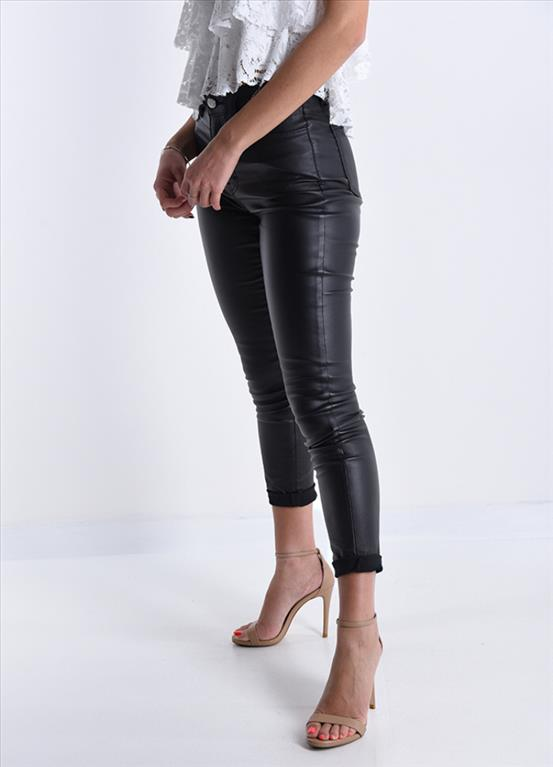 Pantalone ecopelle